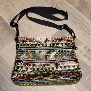 EUC Sakroots Bright & Fun Crossbody Bag
